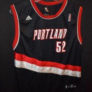 JM9 Blazers #52 Oden NBA Jersey